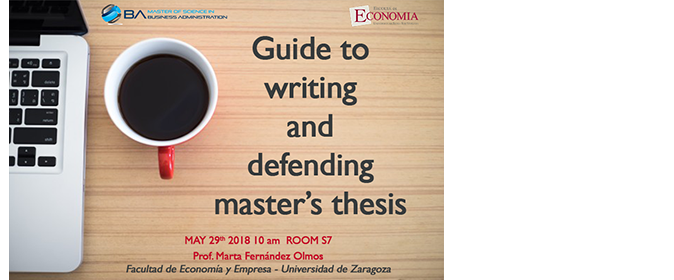 Master thesis in public administration